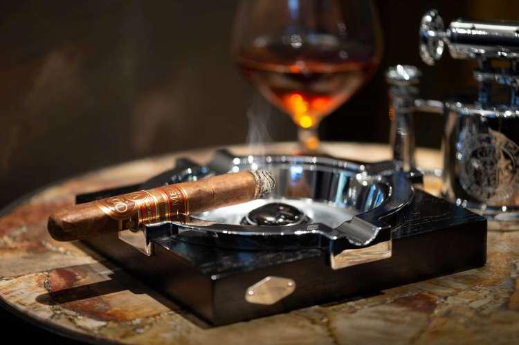 Pívat Cigar Lounge Still Life